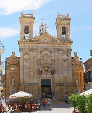 Roman Catholic Diocese of Gozo -  The Basilica of St George in Victoria, the oldest parish in the Diocese dating from Byzantine times.