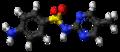 Sulfaperin molecule ball.png