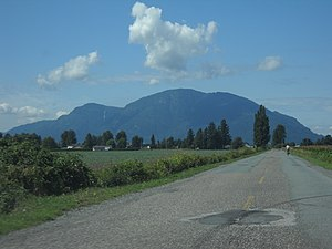 Sumas Mountain (British Columbia) - Sumas Mountain from Sumas Central Road in Chilliwack.