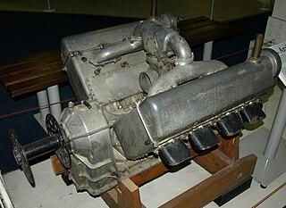 Sunbeam Arab V-8 piston aircraft engine