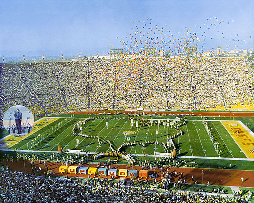 SuperBowl I - Los Angeles Coliseum