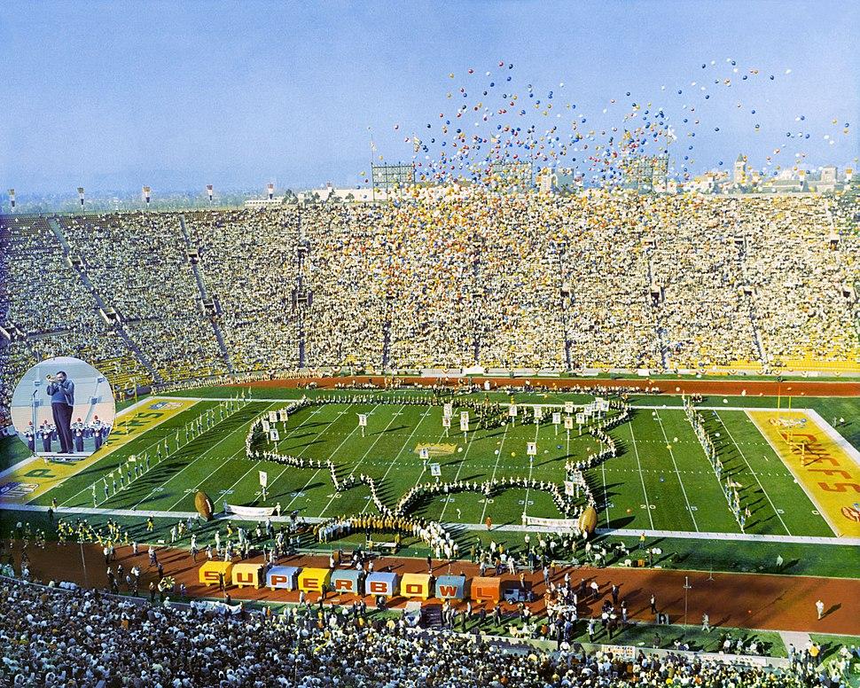 SuperBowl I - Los Angeles Coliseum