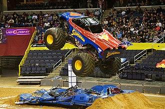 Monster truck - Superman monster truck