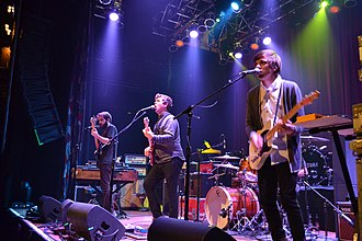 Surfer Blood - Surfer Blood performing at the House of Blues in Cleveland in 2013