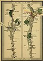 Survey of the high roads of England and Wales - part the first comprising the counties of Kent, Surrey, Sussex (etc.), planned on a scale of one inch to the mile accompanied by indexes, topographic (14762191896).jpg