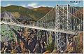 Suspension bridge over the Royal Gorge, Canon City, Colorado. (7725171328).jpg