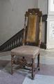 Svarvad stol, 1600-talets sista hälft - Skoklosters slott - 103838.tif