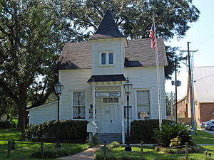 Silverhill, Alabama - Image: Svea Land Company Office Sept 2012 01