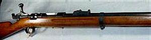 Jarmann M1884 - A Jarmann M1884 manufactured in Sweden