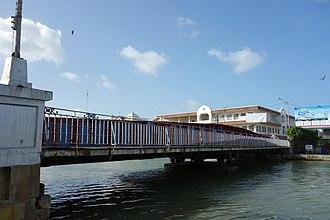 Swing Bridge (Belize) - Swing Bridge in Belize City in 2015