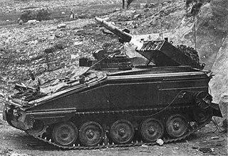 Swingfire Anti-tank missile
