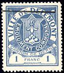 Switzerland Delémont 1904 revenue 1Fr - 5.jpg