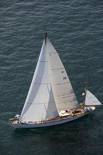 Dorade (yacht) - Image: Sydorade bermuda 2014