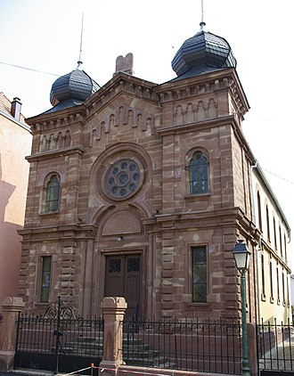 Wolfisheim - Wolfisheim's long abandoned synagogue has been recently restored