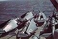 TBM-3Es on USS Siboney forward.jpg
