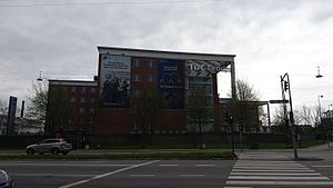 TDC A/S - TDC, YouSee headquarters in Sydhavnen, Copenhagen.