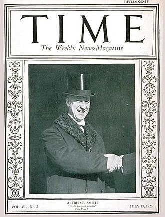 Time cover, 13 Jul 1925 TIMEMagazine13Jul1925.jpg