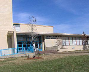 Love Field, Dallas - Thomas Jefferson High School