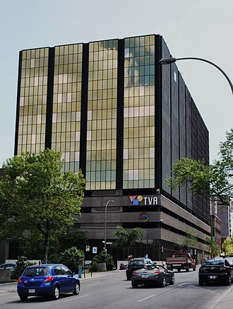 TVA (Canada) - TVA's offices in Montreal.