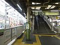 Takadanobaba Station JR Yamanote line - seibu line transfer stairs - March 30 2016.jpg