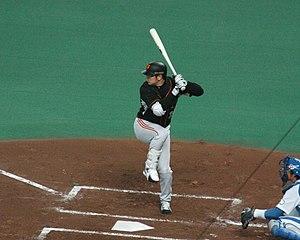 Yoshinobu Takahashi - Takahashi with the Yomiuri Giants