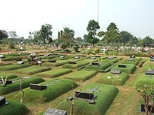 Kebayoran Lama - Tanah Kusir Cemetery is located in Kebayoran Lama Subdistrict