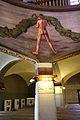 Tampere, cattedrale, int., pittura di magnus enckell e hugo simberg 02.JPG