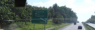 North–South Expressway (Malaysia) - Two-lane 110 km/h highway