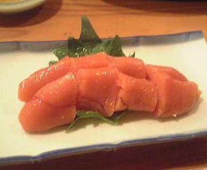 Tarako (food) - Plain tarako