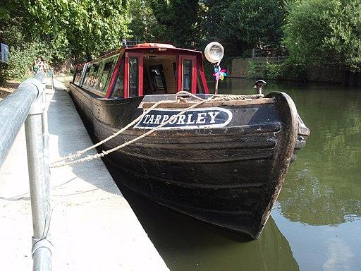 Tarporley - Camden Canal & Narrowboat's Historic Northwich Narrowboat - Regents Canal, London, UK