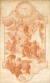 Tecto da egreja dos Martyres de Lxª (1750) - Vieira Lusitano (Museu de Lisboa, ML.DES.4577).png