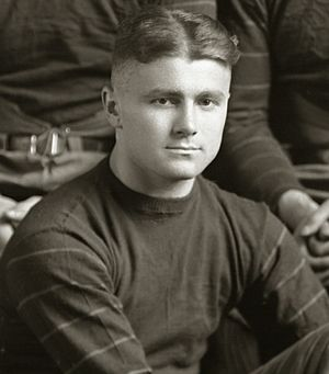 Ted Bank - 1920 Michigan football team portrait