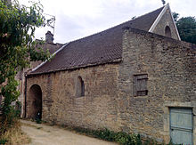 Photograph of the little chapel of the Beaune commandery nowadays.
