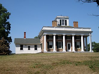 McHenry County, Illinois - The Terwilliger House is one of several historical sites in McHenry County