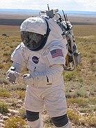 Test of LOCAD-PTS swab system during EVA at NASA Desert RATS 2005