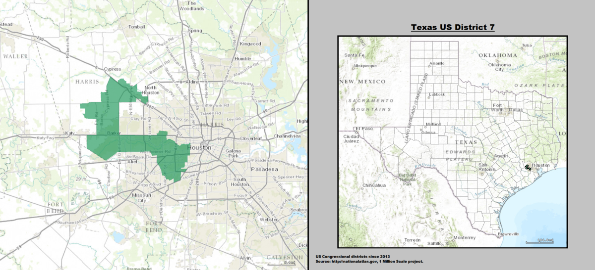 Texass 7th congressional district  Wikipedia
