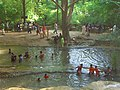 Thai-people-bathing-at-a-waterfall-in-the-shade-of-trees.jpg