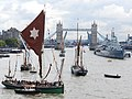 Thames barge parade - downstream - Kitty 6785c.JPG