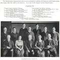 The 1922 Beaver (yearbook), Oregon Agricultural College (now Oregon State University), Mathematics Department, page 49.png