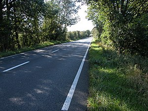 A429 road - Image: The A429 Fosse Way geograph.org.uk 257119