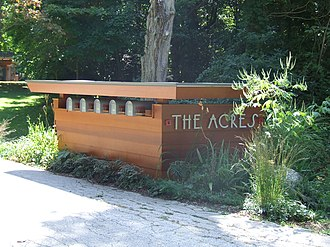 The Acres - Image: The Acres sign