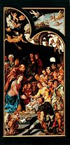 The Adoration of the Shepherds by Maarten van Heemskerck Frans Hals Museum OS I-136a.jpg