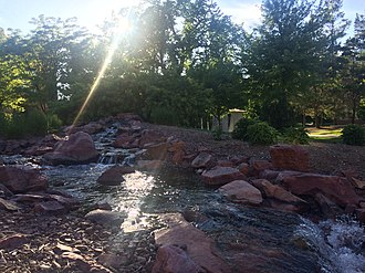North Dakota State University - The Babbling Brook under the Sunbeams