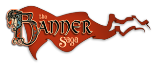 <i>The Banner Saga</i> The Banner Saga is a Viking-themed tactical role-playing video game developed by Stoic, a trio of indie game developers formerly of BioWare, and published by Versus Evil.