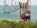 The Chairlift, Alum Bay..JPG