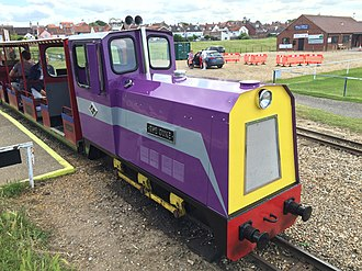 Wells Harbour Railway - Image: The Duke WHR