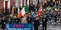 The FDNY EMS Pipes and Drums Band Took Part In The New York Parade On Sunday And Then Jetted To Dublin To March In Dublin On Sunday (8565111389).jpg