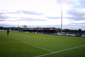 Oxford City F.C. - Marsh Lane, home of Oxford City F.C.