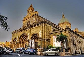 Plaza de Roma - Manila Cathedral