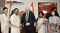 The Minister of Culture of Czech Republic, Mr. Daniel Herman meeting the Minister of State for Culture (IC) and Environment, Forest & Climate Change, Dr. Mahesh Sharma, in New Delhi.jpg